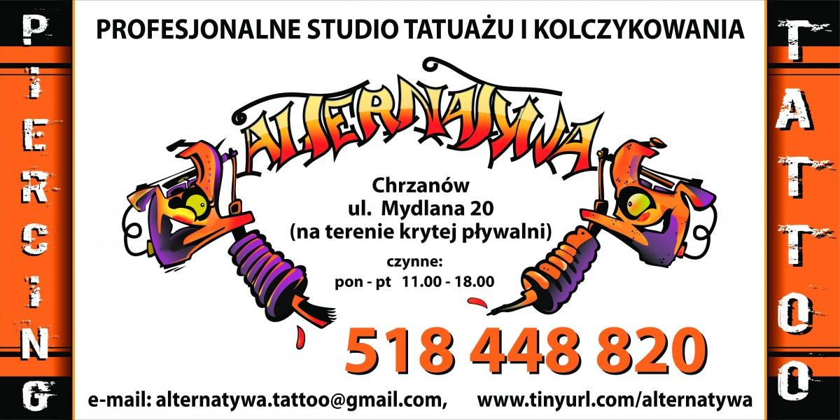 Alternatywa. Studio tatuażu i kolczykowania. Antończyk Ł.